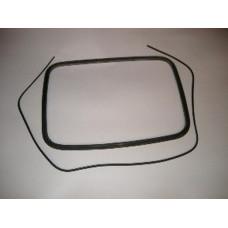 Резиновый уплотнитель стекла двери передней кабины